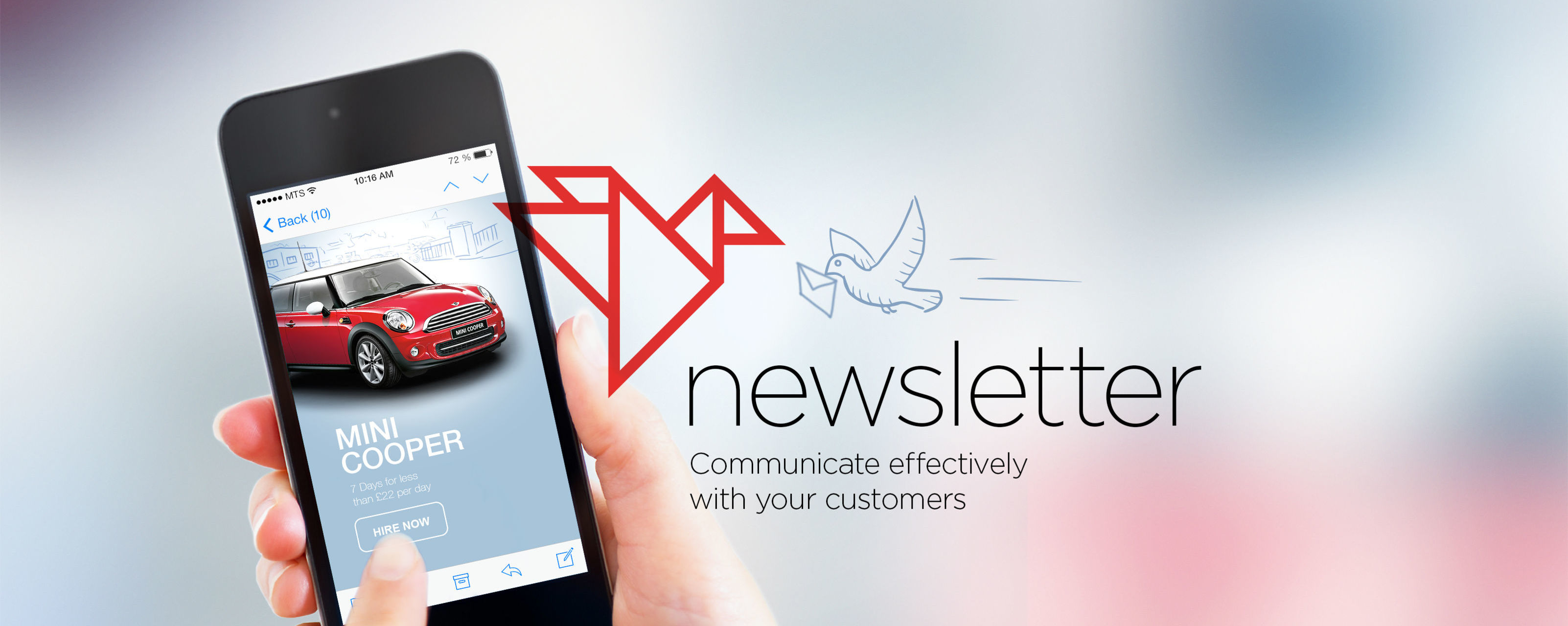 Newsletters made easy