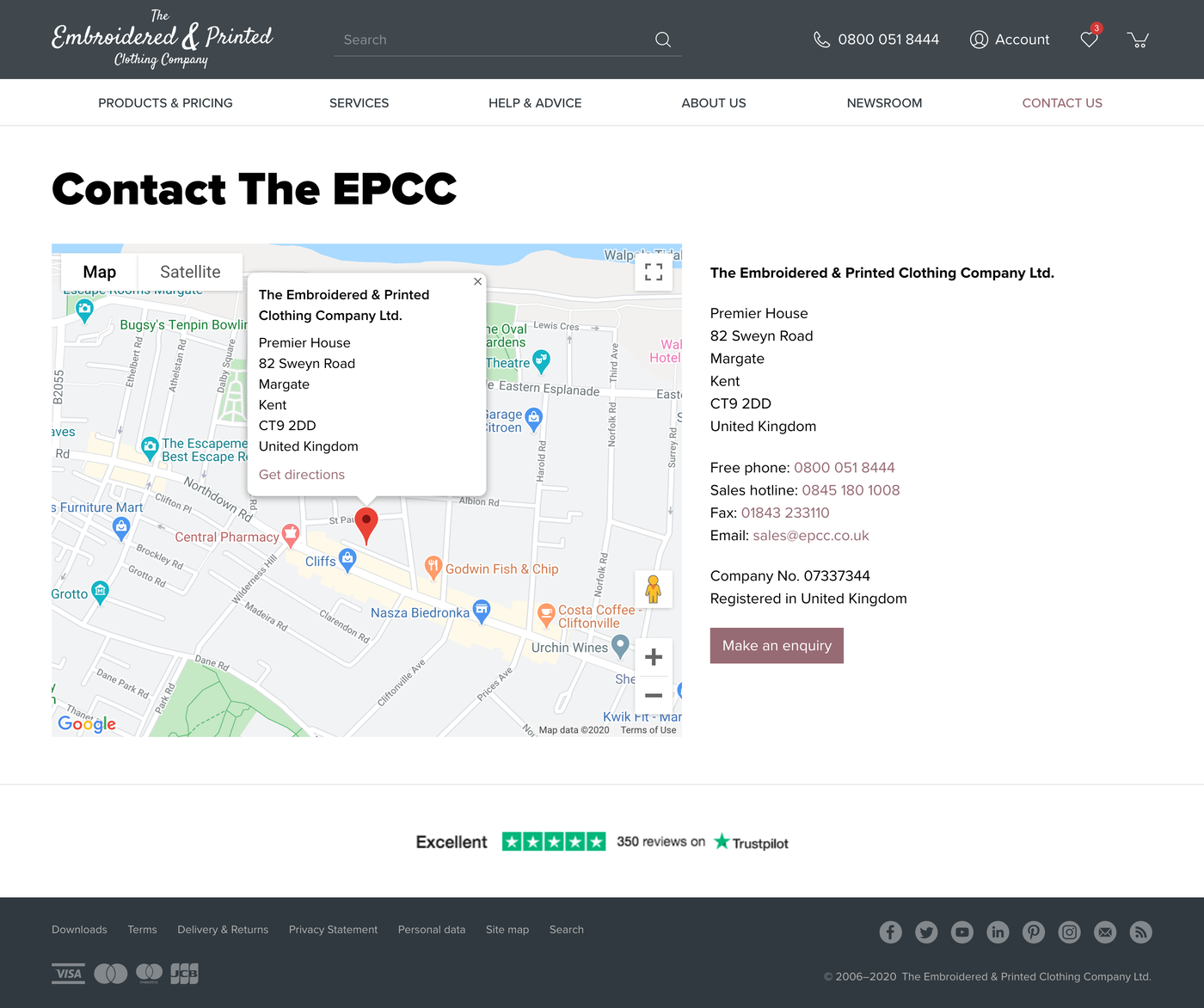 The EPCC Contact us